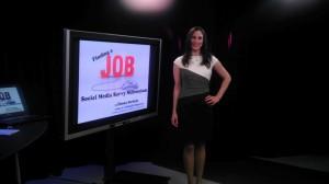 Presenter on Social Media Job Search