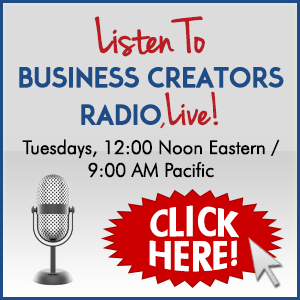 The Business Creators' Radio Show w/ Adam Hommey